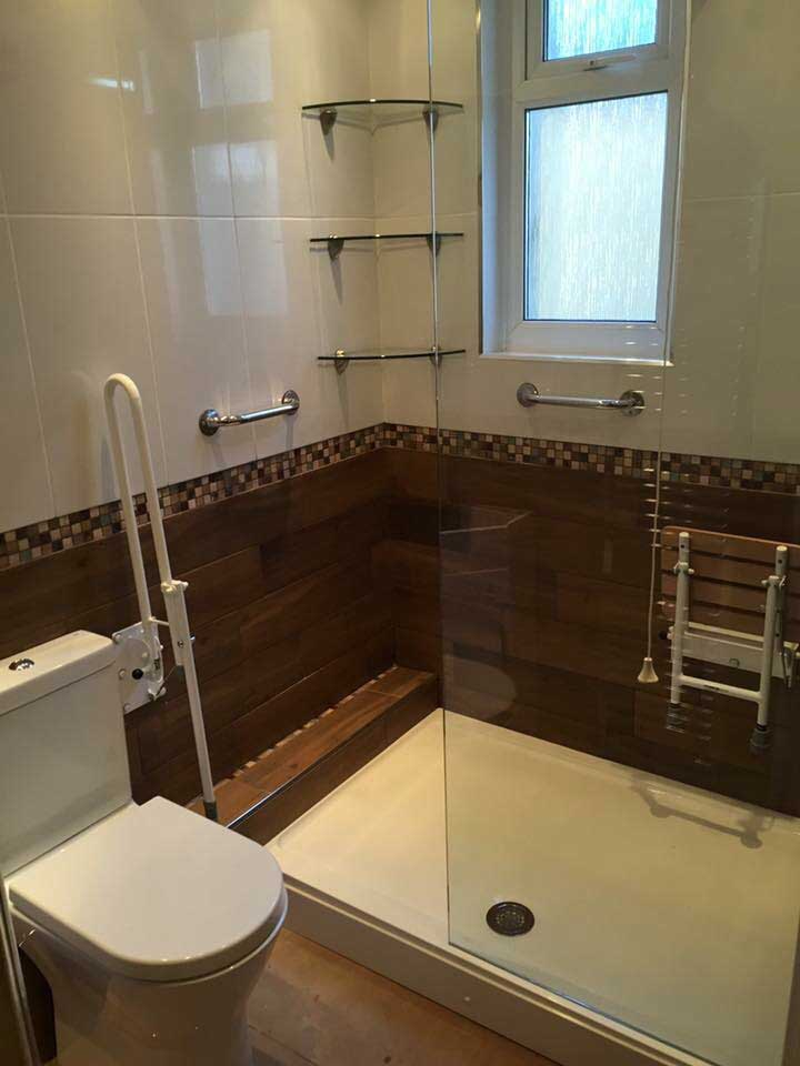 Disabled Shower Swansea | Bathroom Designed For Safety & Style